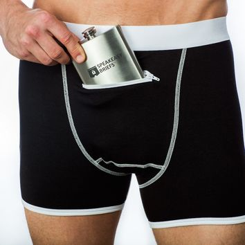Speakeasy Briefs – Underwear With A Secret Stash Pocket