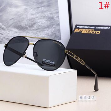 Porsche New fashion polarized glasses eyeglasses men
