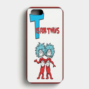 Thing 1 And Thing 2 iPhone SE Case