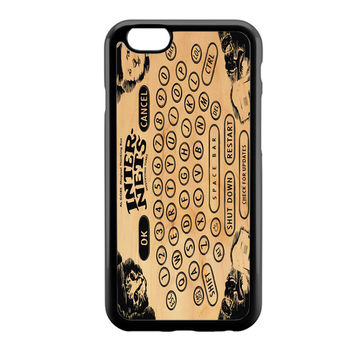 Ouija Board Steampunk Internet Cats iPhone 6 Case