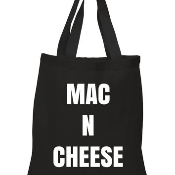 """Mac N Cheese"" 100% Cotton Tote Bag"