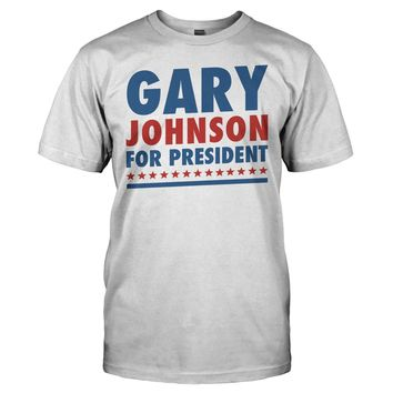 Gary Johnson For President - T Shirt