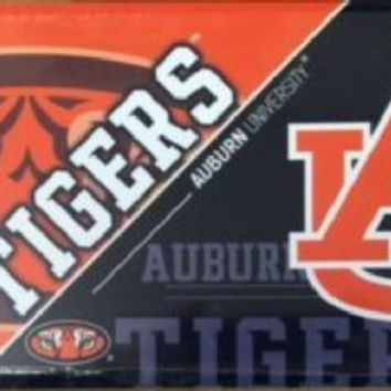 Auburn University Tigers SEC Football License Plate