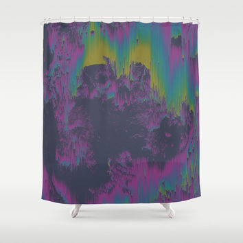 Elsewhere Shower Curtain by DuckyB