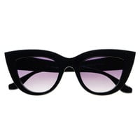 Designer Fashion Celebrity Retro Cat Eye Sunglasses C1270