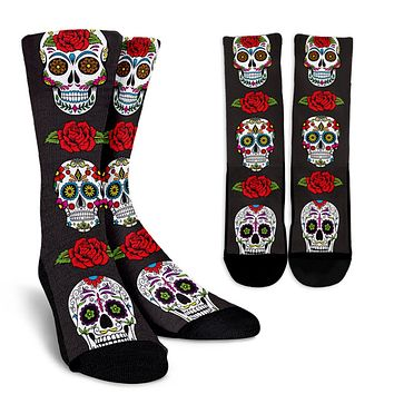 Sugar Skull Socks - Promo