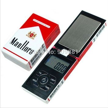 100g 0.01g Mini Electronic Pocket Jewelry Scales 0.01g Digital Gram Cigarette Case Weight Scale Diamond Gold Weight Balance