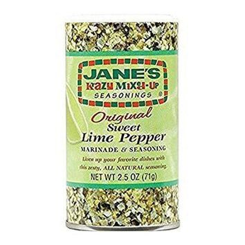 Jane's Krazy Marinade - Sweet Lime Pepper - 2.5 Oz (Minimum Quantity: 3)
