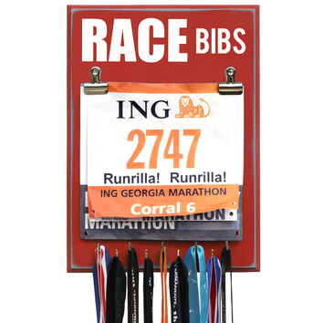 RACE BIBS - Medal Bib Holder