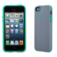 Speck Products CandyShell Satin Case for iPhone 5  - Graphite Grey/Malachite Green