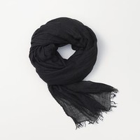 Rag & Bone - Buckley Scarf, Black Size 1