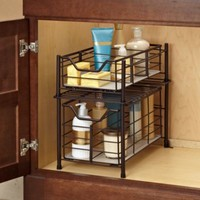 Deluxe Bathroom Cabinet Drawer in Bronze