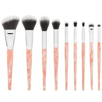 Rose Quartz 9 Piece Makeup Brush Set | BH Cosmetics