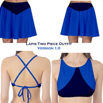 Lapis Lazuli Two piece cosplay outfits Steven Universe