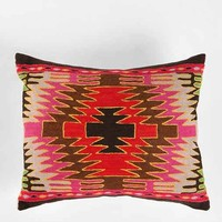 Magical Thinking Diamond Kilim Pillow- Multi One