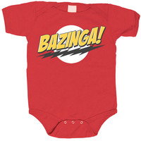 Bazinga! Bodysuit - Red,