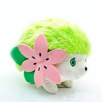 "1 X Cute 9"" Pokemon Rare Shaymin Plush Toy for Nintendo Soft Doll Kids Children Gift"