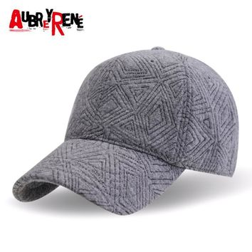 [AUBREYRENE] 100% Cotton Snapback Caps Baseball Cap Women 2016 Winter Hats Z-3895