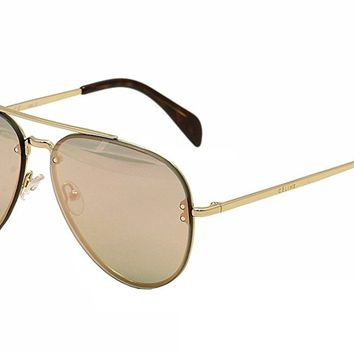 MIRROR SMALL CL 41392/S,Aviator metal men