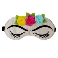 FRIDA KAHLO LASHES AND ROSES SLEEP MASK