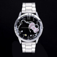 Hello kitty wristwatches stainless steel