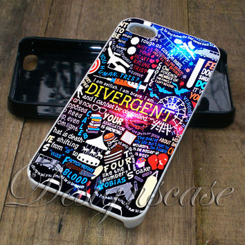 Divergent Collage Light - iPhone 4/4S, iPhone 5/5S/5C/6, Samsung Galaxy S3/S4/S5 Cases
