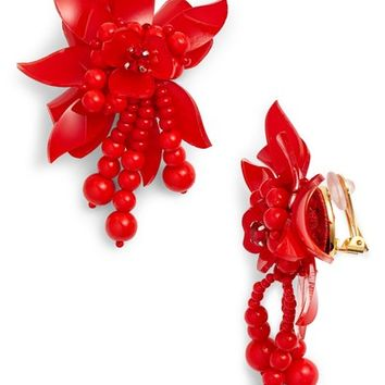 Oscar de la Renta Flower Field Petal Earrings | Nordstrom