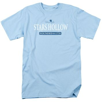 Gilmore Girls - Stars Hollow Short Sleeve Adult 18/1