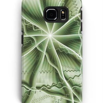 'Brainstorming Abstract Fractal Art' Samsung Galaxy Hülle & Skin by gabiwArt