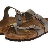 Birkenstock Mayari Sandals Stone Birkibuc - Beauty Ticks