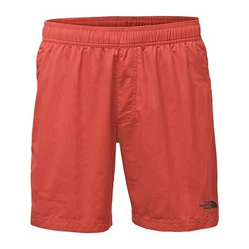 "Men's 7"" Class V Pull-On Trunks in Sunbaked Red by The North Face"