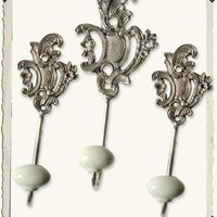French Victorian Wall Hooks