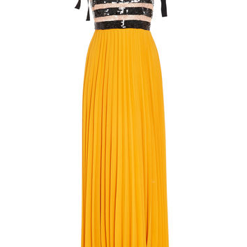 M'O Exclusive Sequin Striped Calabaza Dress | Moda Operandi