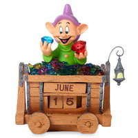 Dopey Perpetual Calendar Figurine by Precious Moments