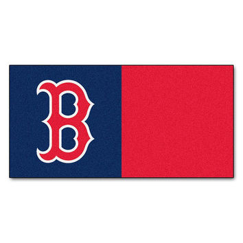 Boston Red Sox MLB Team Logo Carpet Tiles