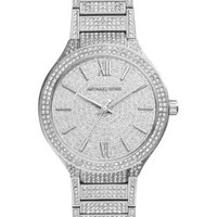 Michael Kors Women's Kerry Pavé Stainless Steel Bracelet Watch 38mm MK3359 | macys.com