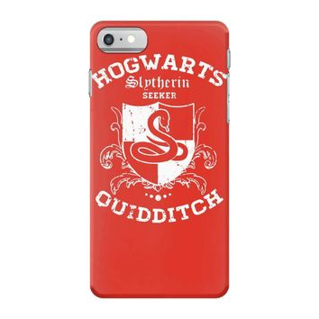 slytherin quidditch iPhone 7 Case