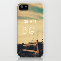 Dream Big iPhone & iPod Case by Olivia Joy StClaire