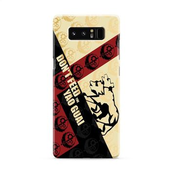 Don't Feed The Yao Guai Fallout brotherhood of steel Samsung Galaxy Note 8 Case