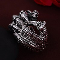 Men's Horror Claw Biker Ring