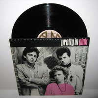 Vinyl Record Album Pretty In Pink Original by JustCoolRecords