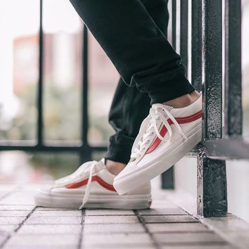 Vans Old Skool Style 36 'Marshmallow/Racing Red'