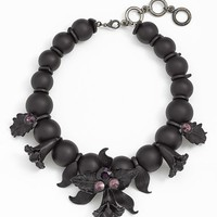 Cara 'Black Orchid' Statement Necklace