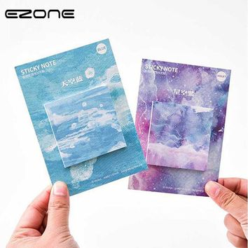 EZONE Nature Color Memo Pad Paper Sticky Notes Notepad  Kawaii Stationery Papeleria school Supplies Material Escolar Gift