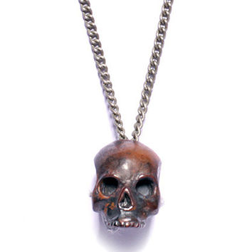 Iron Skull Necklace