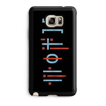 twenty one pilots tattoos case for samsung galaxy note 5 note edge