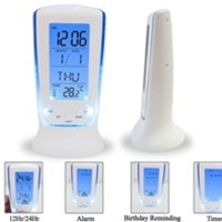 Calming Blue - College Dorm Room Alarm Clock - Dorm Room Electronic Clock