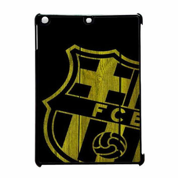 Barcelona FC Wood iPad Air Case