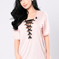 Will you Still Love Me? Tunic - Blush