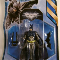 Batman Dark Knight Rises Stealth Vision Comics Mattel Action Figure Collectible